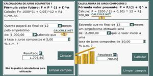 Calculadora de Juros Compostos, Simulador com fórmula de cálculo e exemplos de como calcular