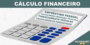 Cálculo Financeiro - Calculadoras e Simuladores grátis para auxiliar no Planejamento Financeiro