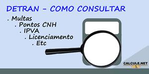 Detran-SP Consulta - Como Consultar Multas, Pontos CNH, IPVA, Licenciamento, Placa