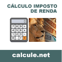 Cálculo Imposto de Renda -IRPF