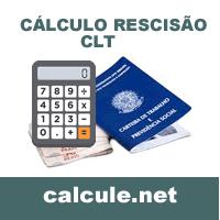 Cálculo Rescisão CLT