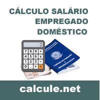 Cálculo Salário Empregado Doméstico