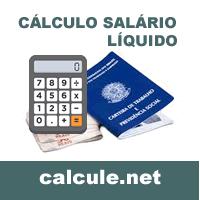 Cálculo salário líquido do empregado
